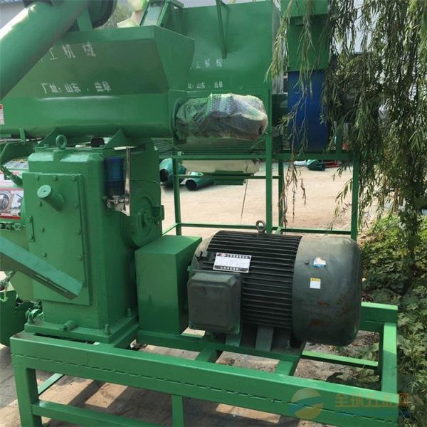 林工机械色达县饲料成套设备 小型鱼饲料颗粒机 新能源燃料