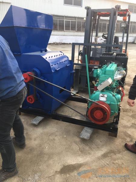 上杭县锤式粉碎机 高粱粉碎机 干湿多用饲料粉碎机林工