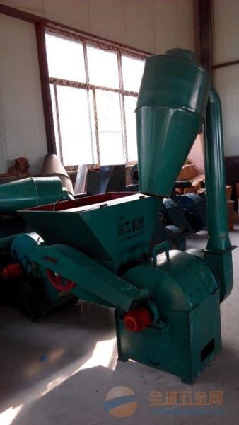 旅顺口区玉米秸秆粉碎机 锤片式粉碎机 花生秧自动喂料粉碎机林工机械