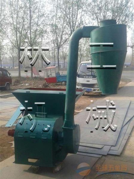 威远县农作物秸秆粉碎机 饲料粉碎机 自动进料粉碎机厂