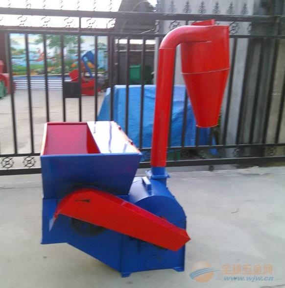 隆昌县小型秸秆粉碎机 多功能粉碎机 自动进料秸秆粉碎