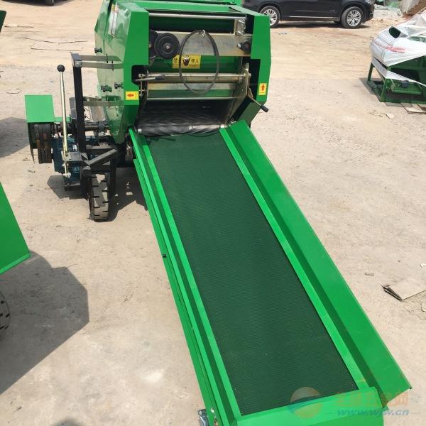 林工机械定兴县自走式秸秆打捆机 小型秸秆打捆机 捆草机