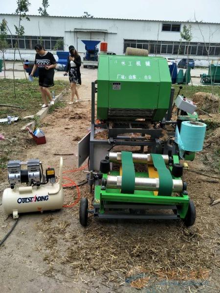 阿尔山农机机械秸秆机 青储机价格 打捆机视频图片