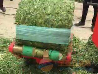 射阳县青饲料打包机价格 包膜机厂家直销 捡草机价格