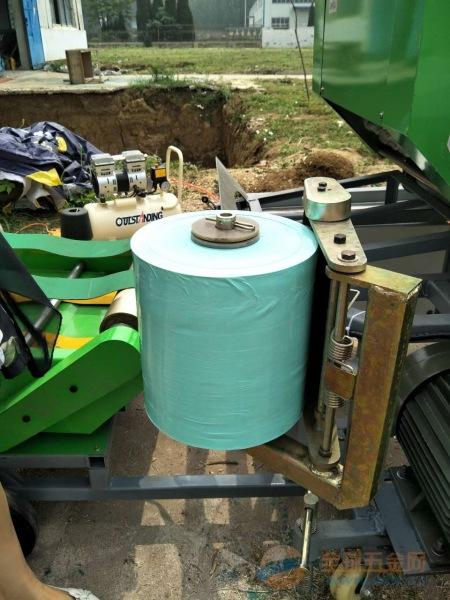承德自走式秸秆打捆机 小型秸秆打捆机 捆草机视频
