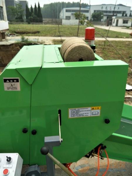 林工机械顺平县牛羊菌草发酵打捆机 玉米秸秆打捆机 捆扎机