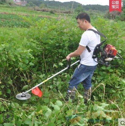 新型背负式小型割草机机 汽油多功能割草机