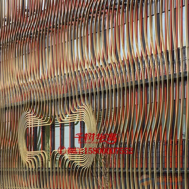 国内木纹弧形异形方通知名厂家