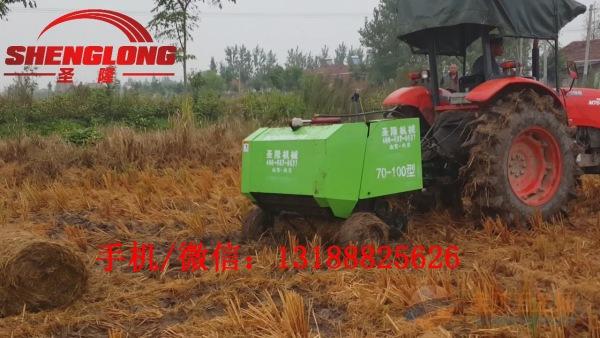 专业生产牧草打捆机厂家秸秆捡拾打包机哪有卖的