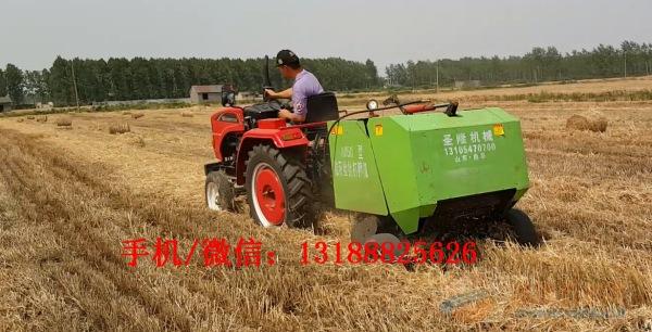 全自动圆捆捡拾打捆机质量三包型稻草捡拾打捆机厂家