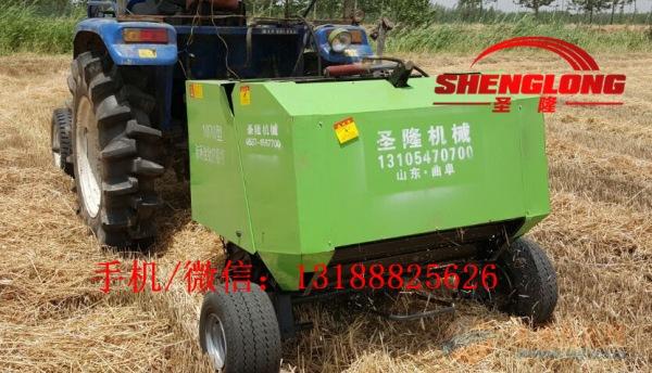 厂家促销秸秆圆捆打包机牧草捡拾打捆机价格低销