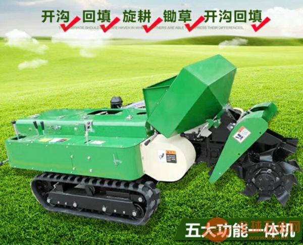 瑞金小型履带式培土施肥机怎么卖