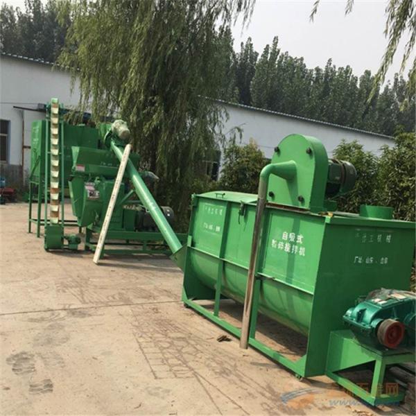 畜牧飼料顆粒機組林工養殖顆粒飼料機械價格