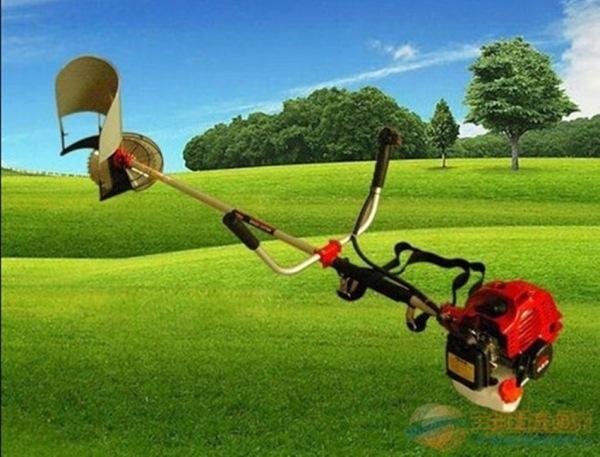 推拉式小型开沟机 背负小型除草收割机价格