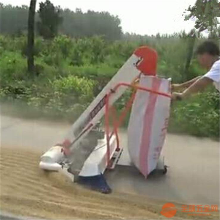 晒场粮食装袋机 全自动自走式收粮机价格
