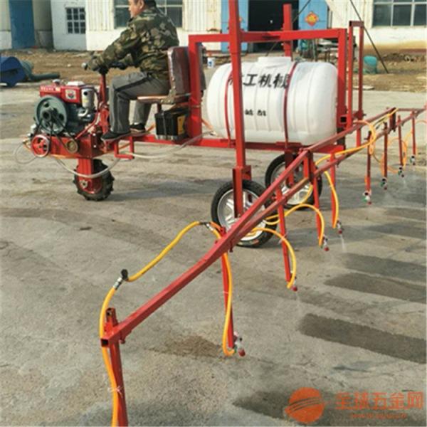 大型三轮车式柴油打药机 加大加宽喷幅喷雾机