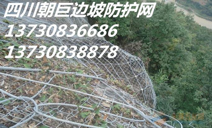 成都山体防护网、成都主动防护网、成都边坡防护网、成都钢丝绳网