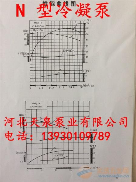 敦化4N6*2冷凝泵_4N6*2电厂专用泵