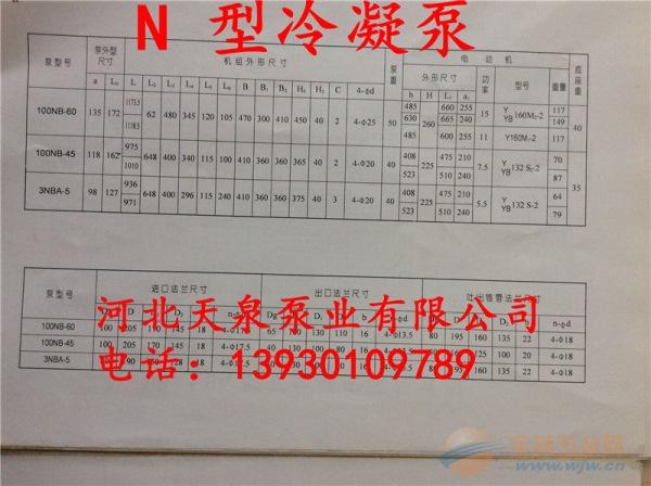 图们4N6A冷凝泵_4N6A电厂冷凝泵