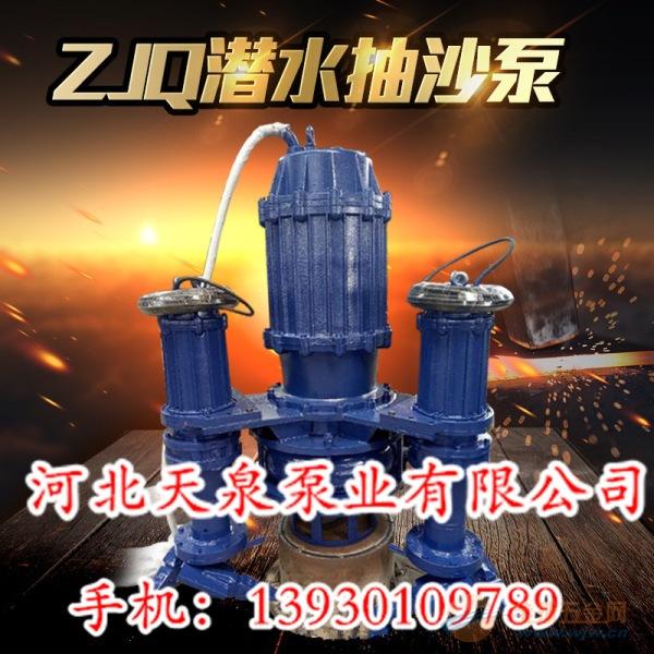 专业水泵 ZJQ型潜水抽沙泵 吸沙泵 泥浆泵 潜水渣浆泵