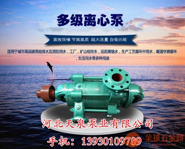 宿州d级离心泵200D65X10自平衡多级泵csbengye