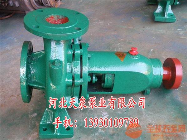 ISR80-50-315选型标准
