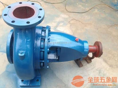 聊城ISR125-100-200工业给水泵跳闸是什么回事