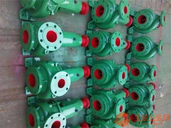 梅州IS125-100-315C常温清水泵不出水为什么