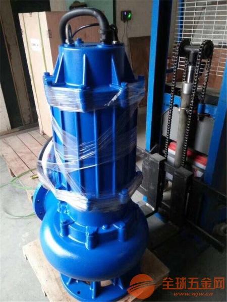 西华县250WQ60-10-37单相无堵塞排污泵