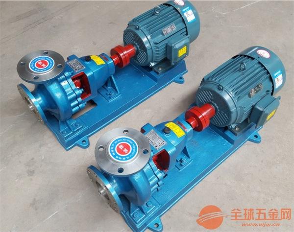 芦山IHF65-40-250B离心式不锈钢耐腐蚀泵现