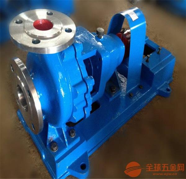 珲春IHF125-100-400刨花碱化工泵现在订购