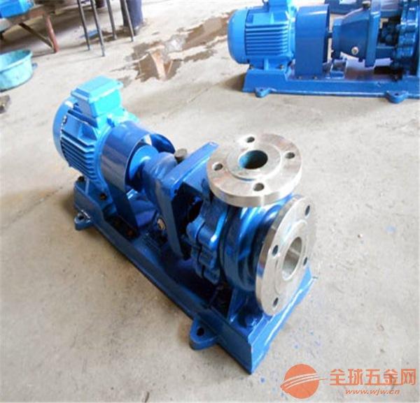 肥乡IHF125-100-400A刨花碱化工泵故障解