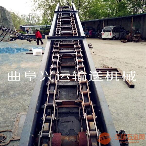 单板链石料刮板输送机 易清理刮板输送机LJ
