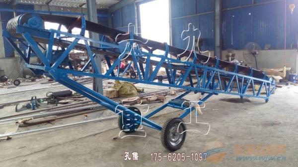 大型移动皮带输送机 矿用皮带输送机 斜坡输送自动送料机