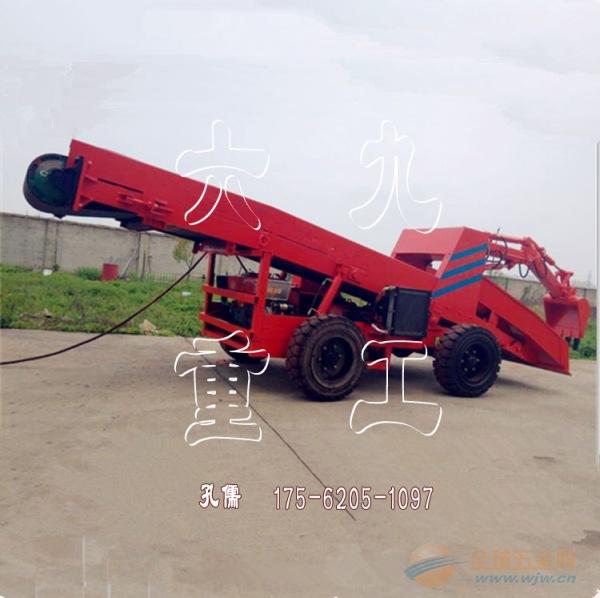 上海沙子黄土装载铲运机 自动化建筑工地扒渣铲运机
