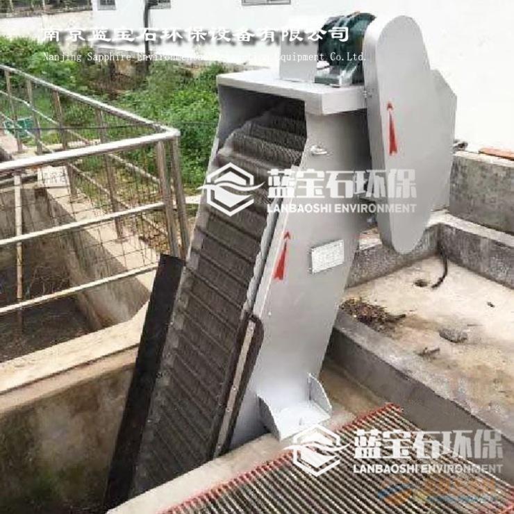 纺织污水处理回转式格栅除渣机报价