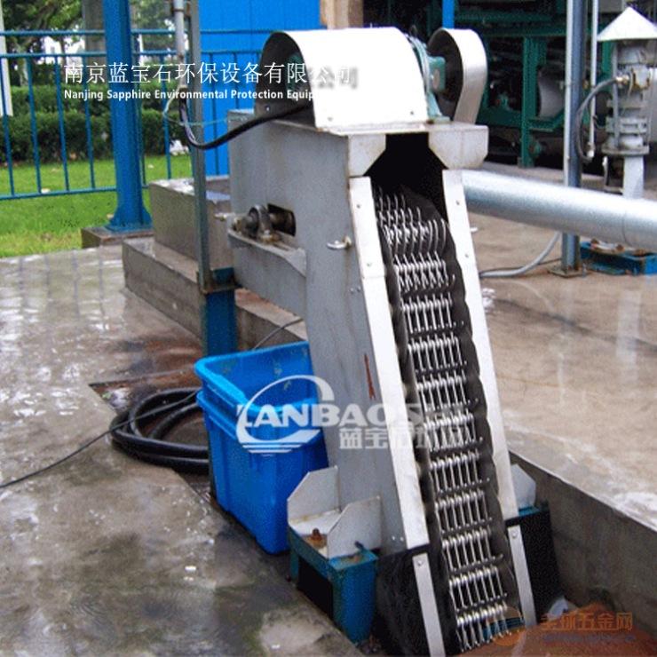 食品加工污水处理机械格栅除污机如何选型