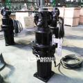 厌氧池潜水推流器正确安装方法7.5kw