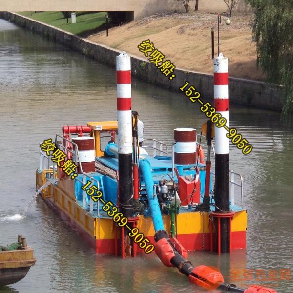 西乡绞吸式挖泥船河道保洁和生态清淤