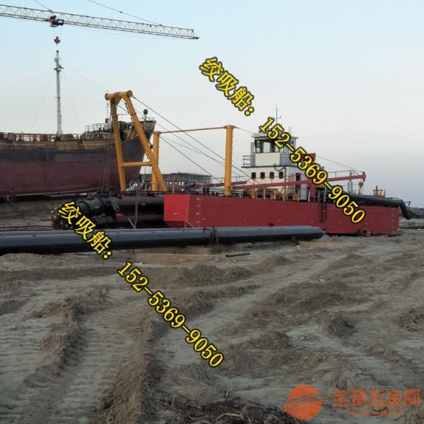 遵义6寸小型绞吸式挖泥船采用四桩定位