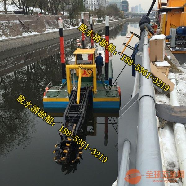 宁夏清淤船厂家 宁夏小型6寸河道淤泥固化清淤船价格