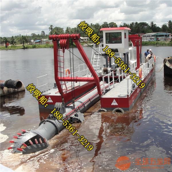 湖北抽沙船订做 湖北液压驱动铰吸抽沙船制造工期
