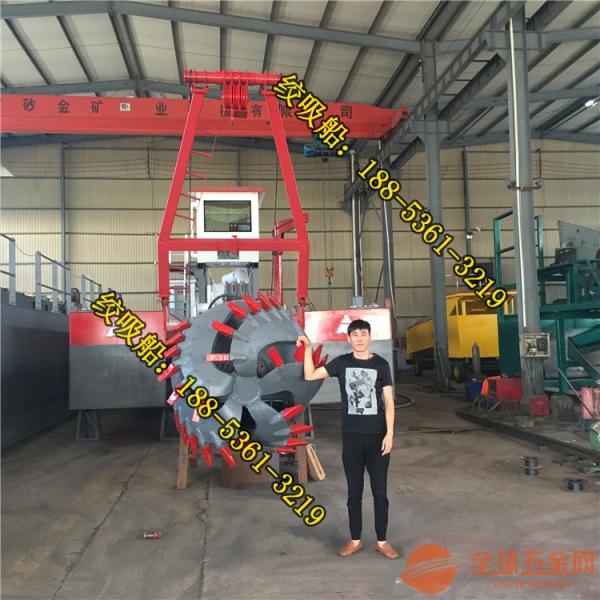 广东惠州8寸机械式河道疏浚船操作简单