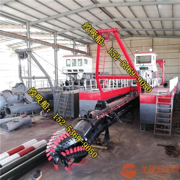 广东水电站清淤船全液压操作流程 广州小型水电站清淤船