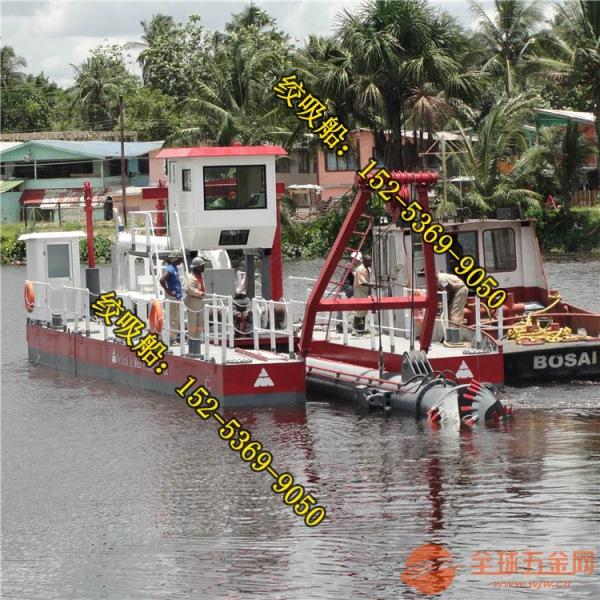 陕西渭南河道清理船是如何疏浚的 金盟机械专业生产河道