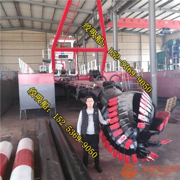 浙江湖州绞刀式抽沙船泥沙产量 大型绞刀式抽沙船常见维