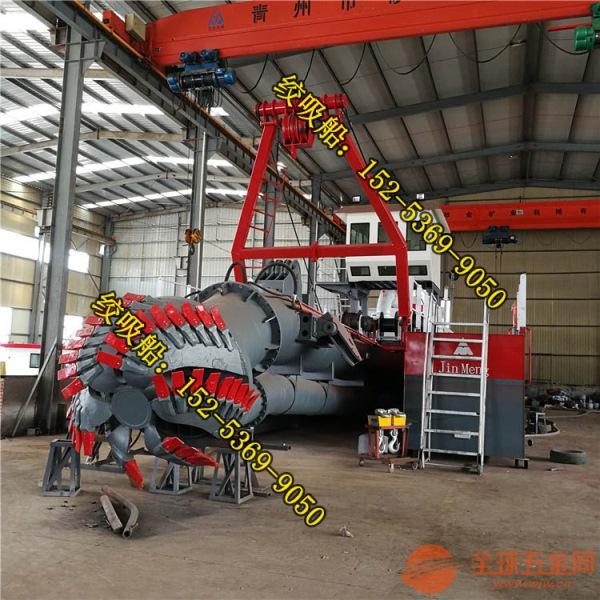 江苏南通绞刀式抽沙船柴油机优点 新型绞刀式抽沙船价格