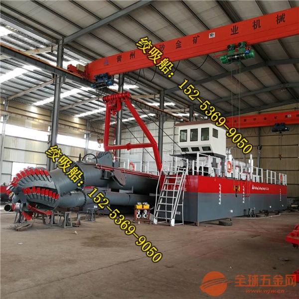 陕西榆林河道清理船是如何实现泥沙输送的 金盟机械清理