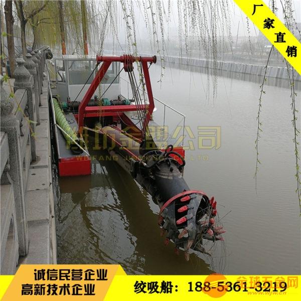 湖北脱水清淤船清淤现场图 湖北液压清淤船制造生产