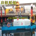 中小型环保吸泥船厂家 新型环保河道挖泥船